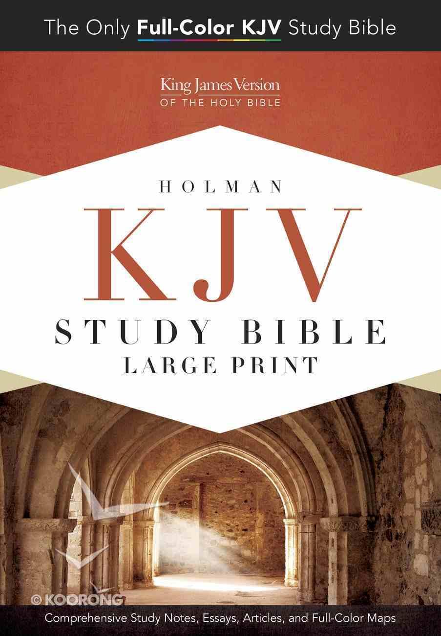 KJV Study Bible Large Print Edition Hardback