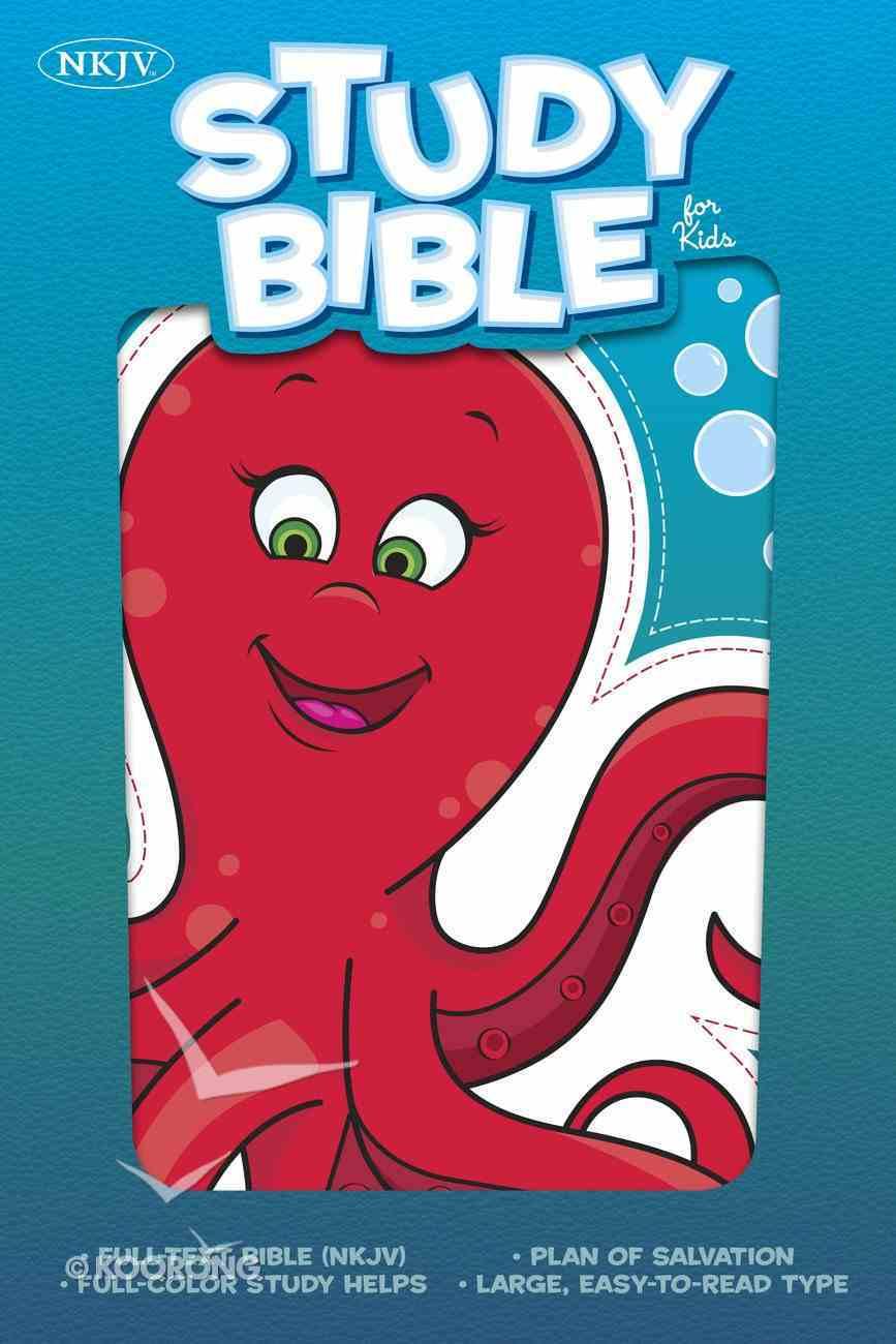 NKJV Study Bible For Kids Octopus Imitation Leather