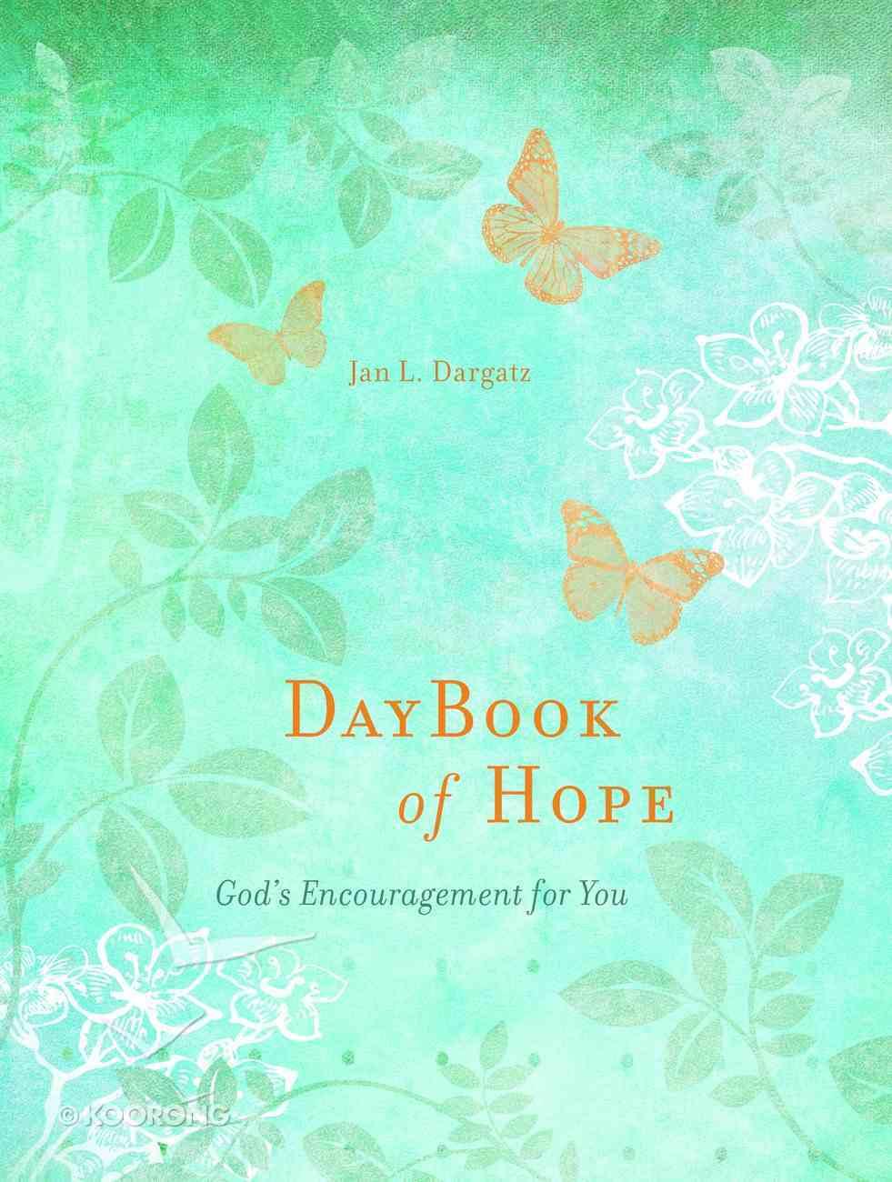 Daybook of Hope Hardback