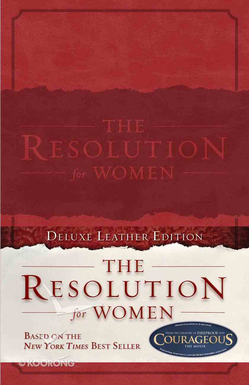 The Resolution For Women (Deluxe Leather Edition) Genuine Leather