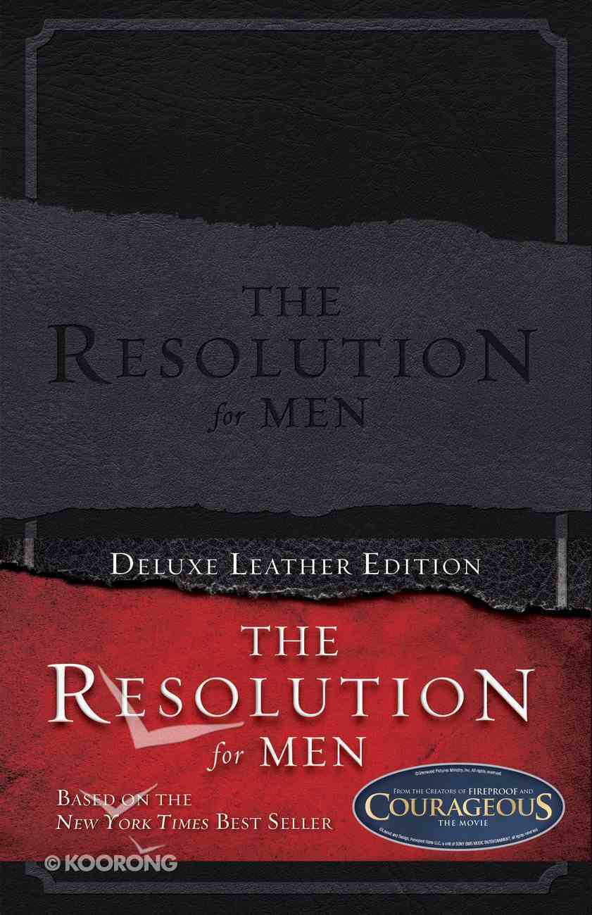 The Resolution For Men (Deluxe Leather Edition) Genuine Leather