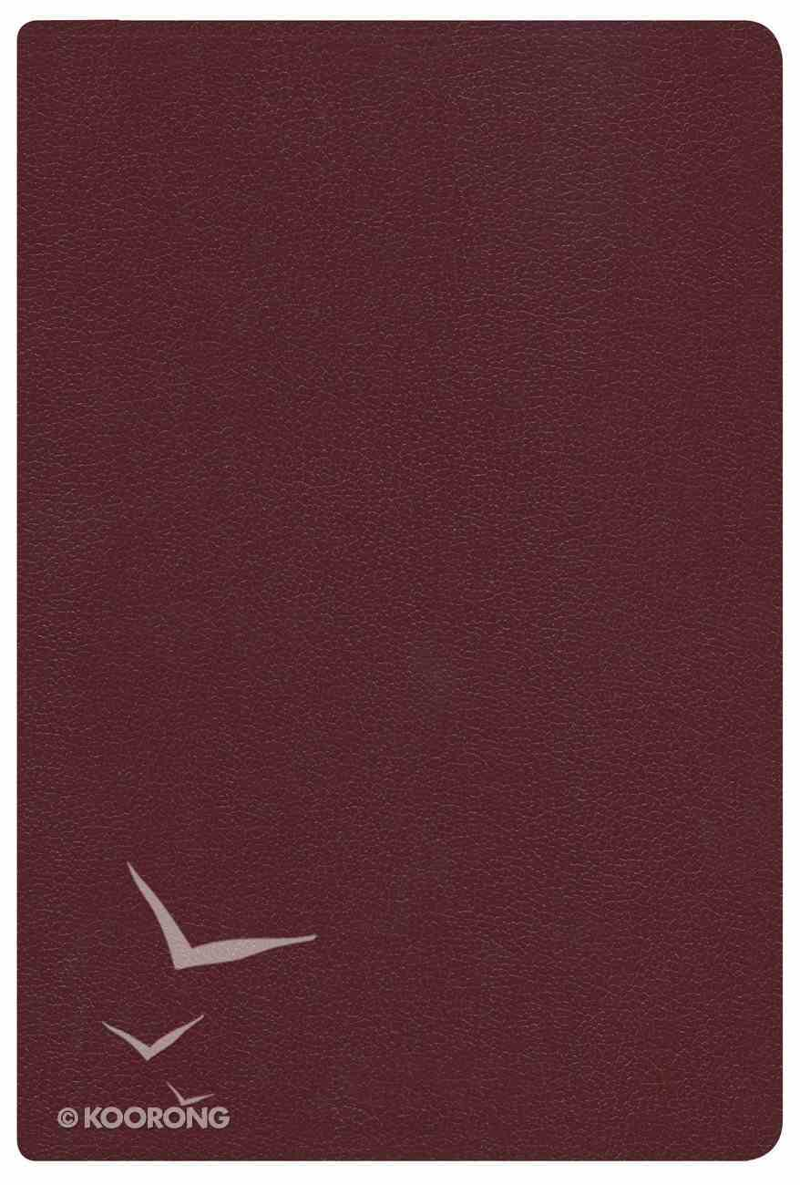 Rvr 1960 Biblia Letra Grande Tamano Manual Rojizo Imitacion Piel Con Indice (Spanish Bible) Premium Imitation Leather
