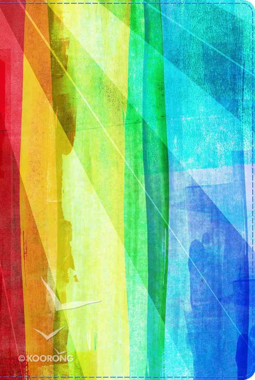 Rvr 1960 Biblia De Estudio Arco Iris Multicolor Smil Piel Con Ndice Rainbow (Spanish) Genuine Leather