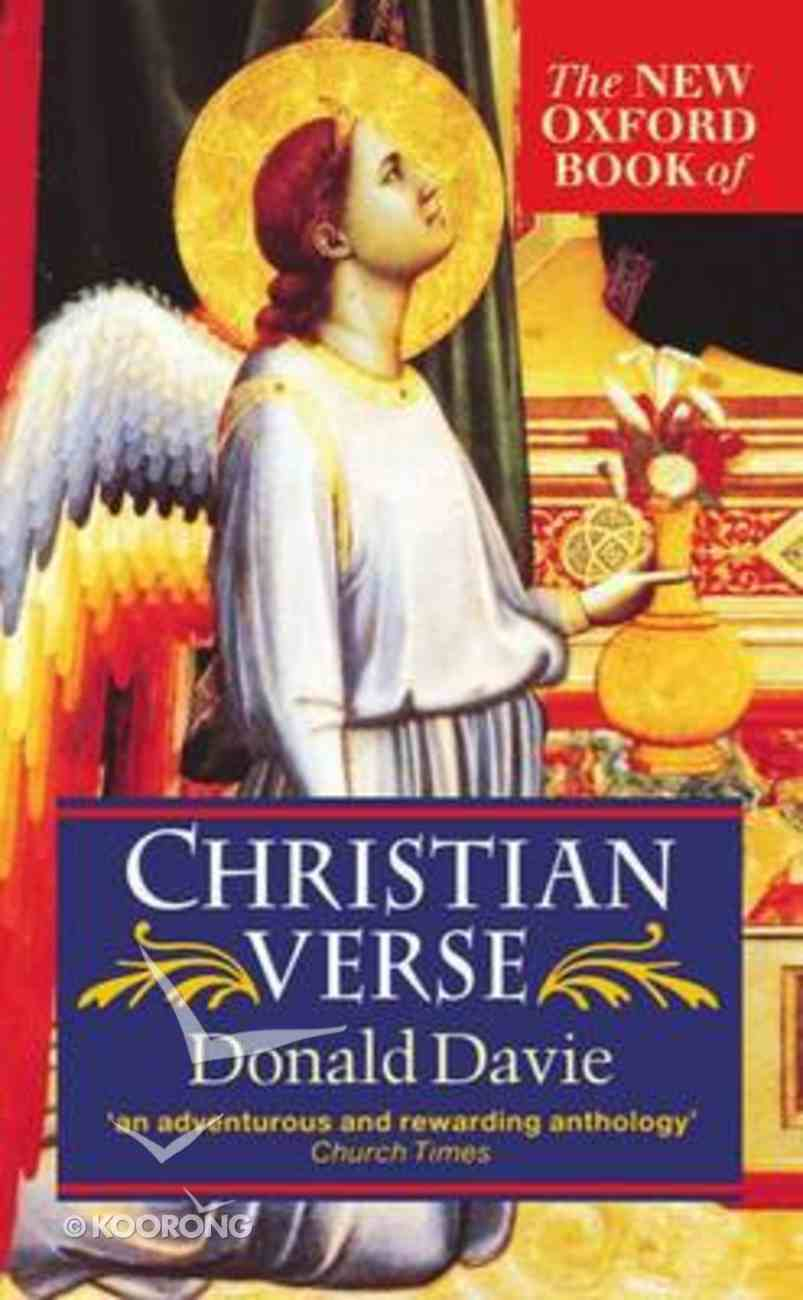 The New Oxford Book of Christian Verse Paperback