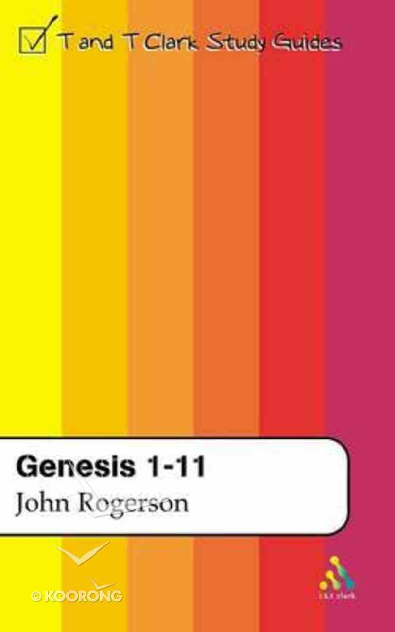 Genesis 1-11 (Old Testament Guides Series) Paperback