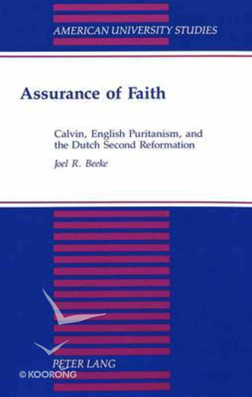 Assurance of Faith Paperback