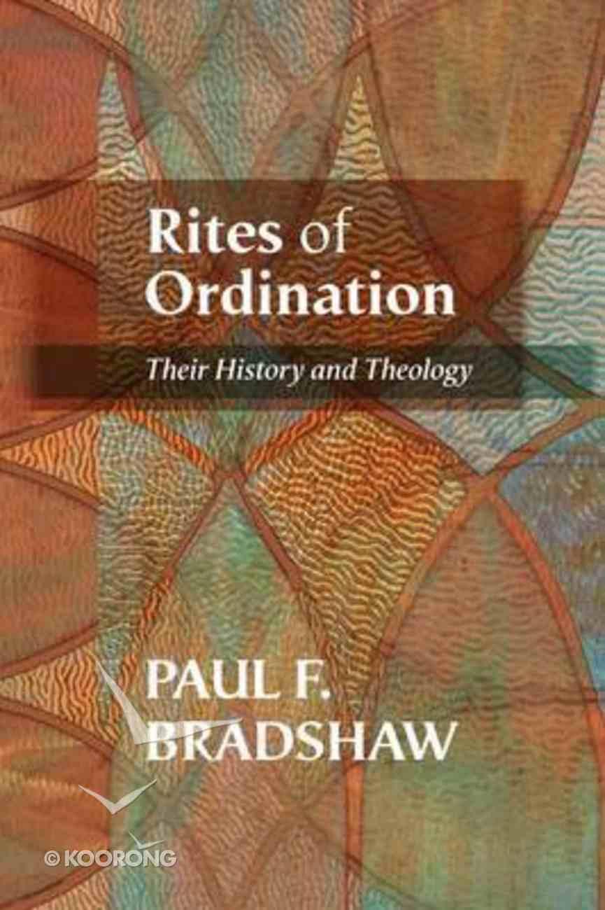 Rites of Ordination Paperback