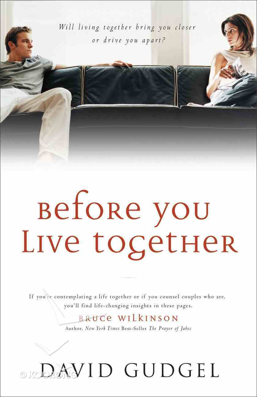 Before You Live Together Paperback