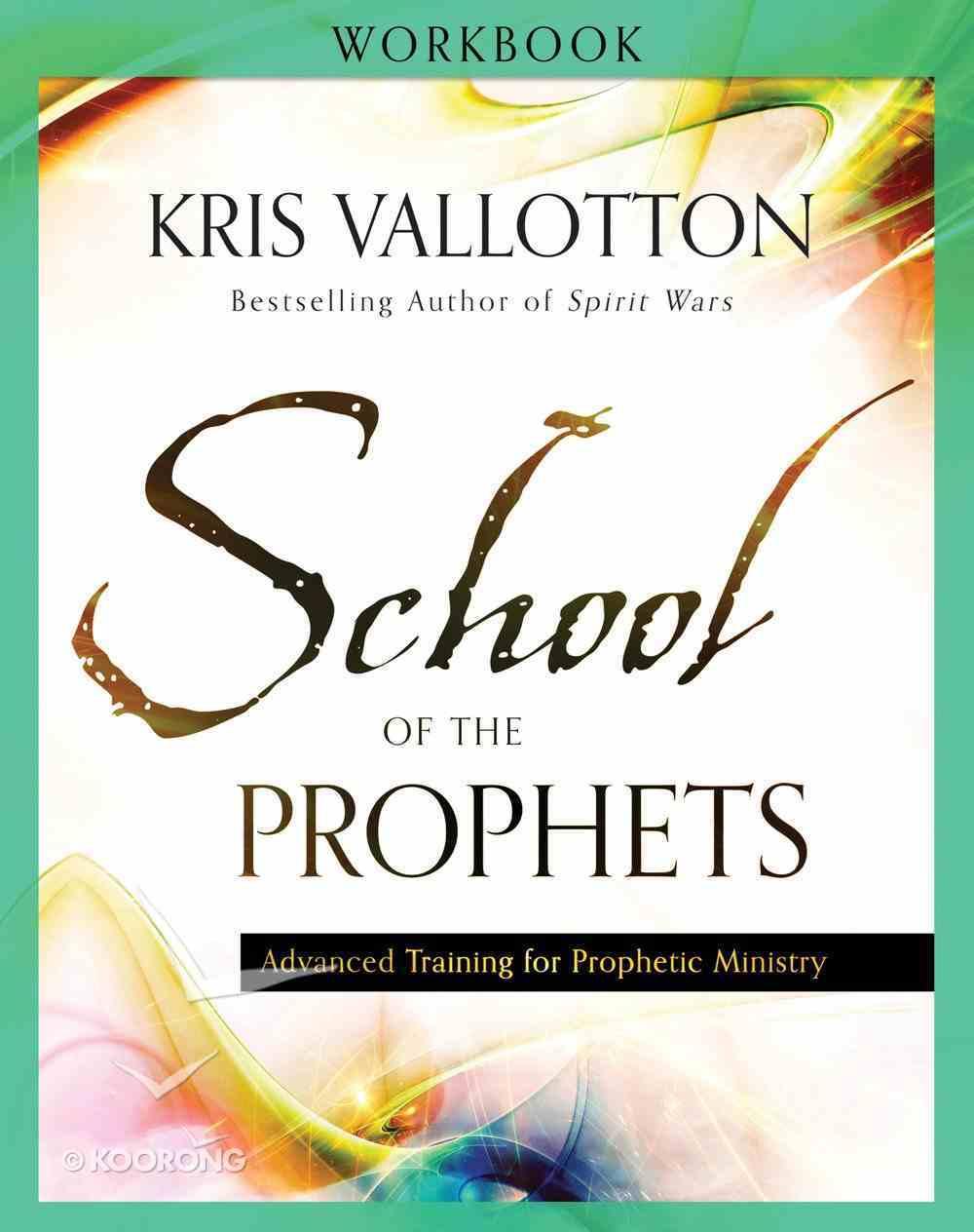 School of the Prophets (Workbook) Paperback