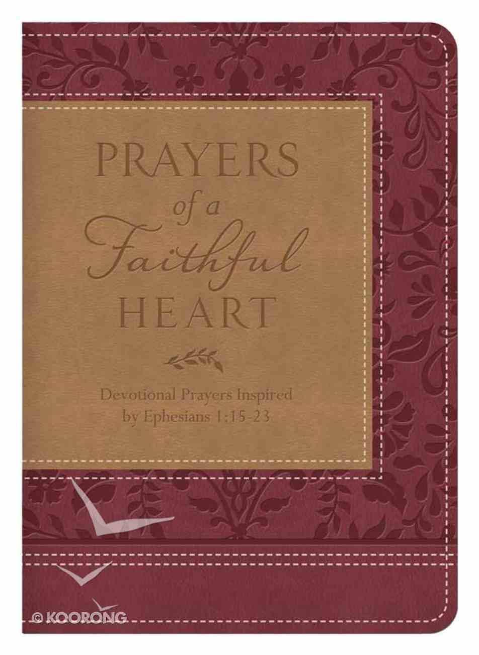 Prayers of a Faithful Heart Imitation Leather
