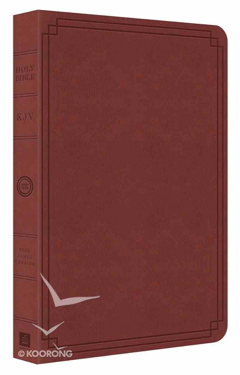 KJV Thin Line Bible Tan Flexi Back