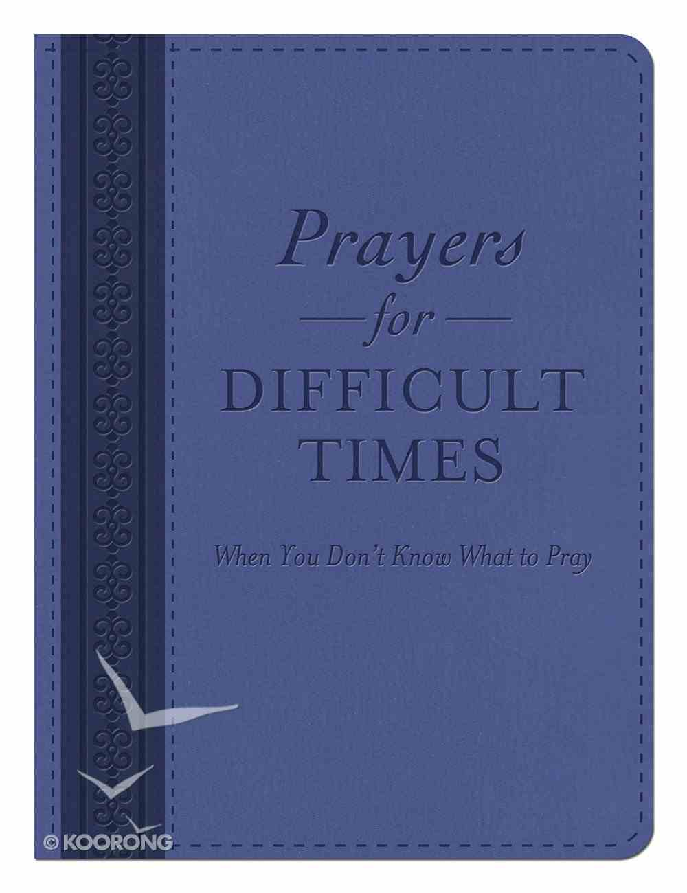 Prayers For Difficult Times Imitation Leather