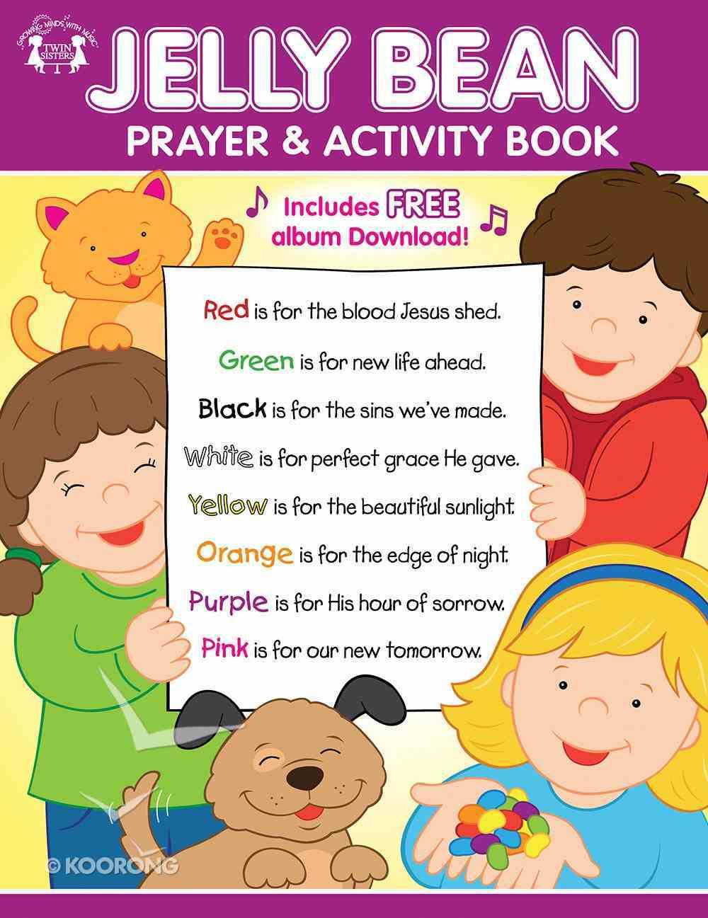 Jelly Bean Prayer & Activity Book Paperback
