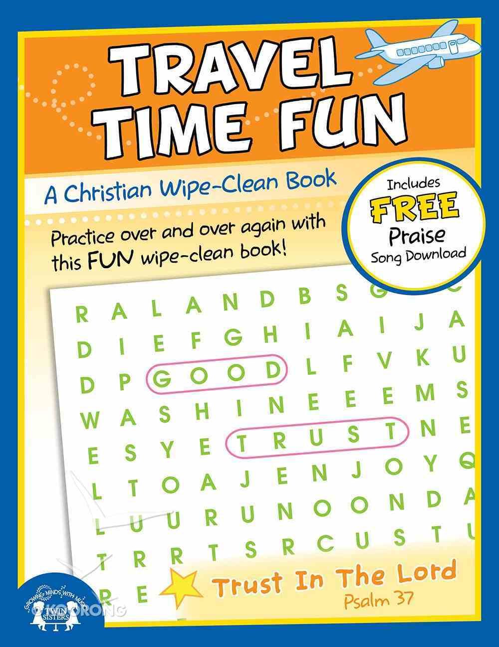 Wipe Clean Book: Travel Time Fun (Age 6+) (Use Themes) Paperback