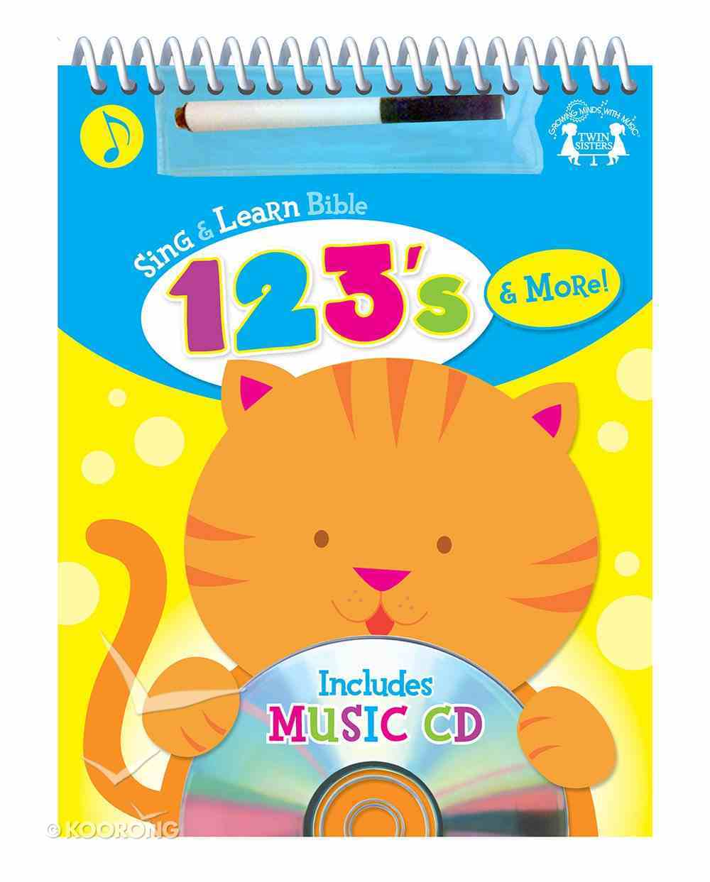 Sing and Learn: Bible 123's & More (Incl Music Cd) Spiral