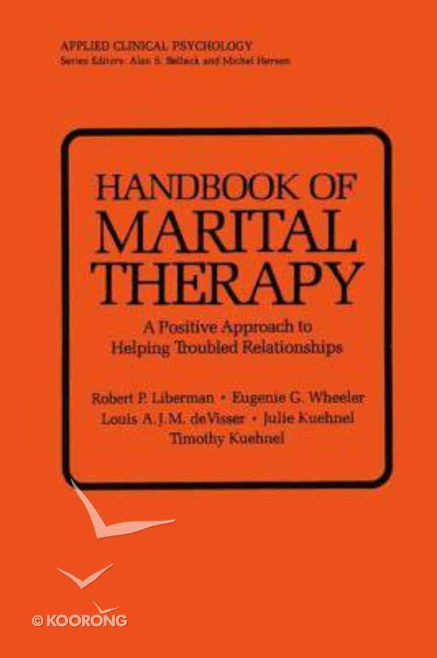 Handbook of Marital Therapy Paperback