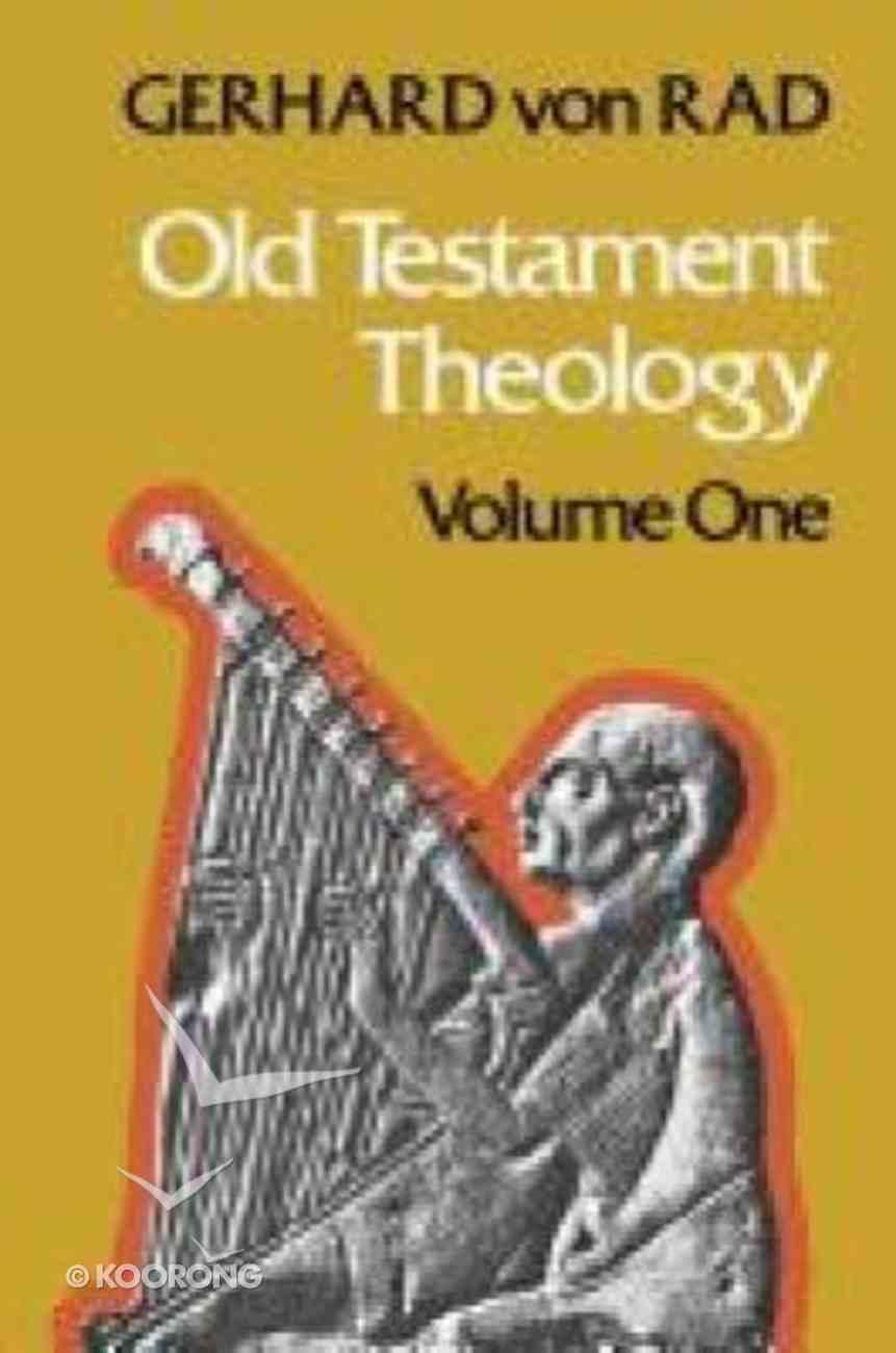 Old Testament Theology (Vol 1) Hardback