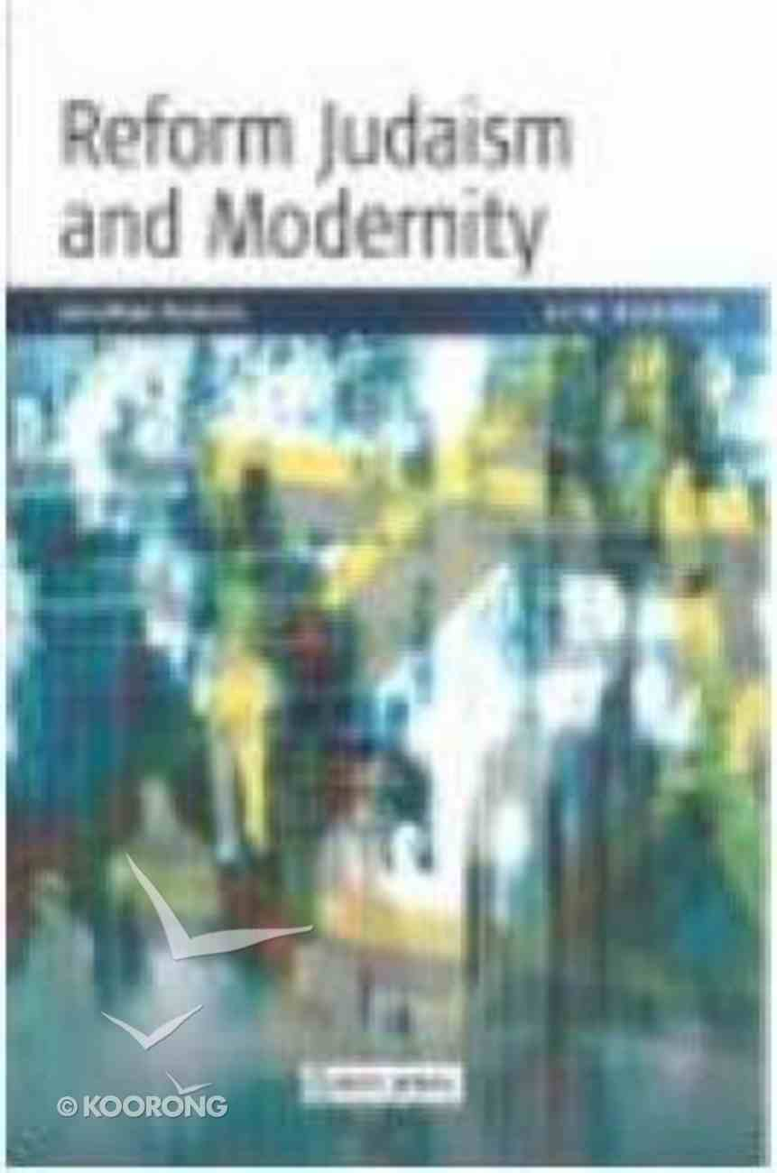 Reform Judaism and Modernity Paperback