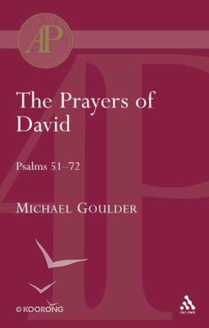 Prayers of David Paperback