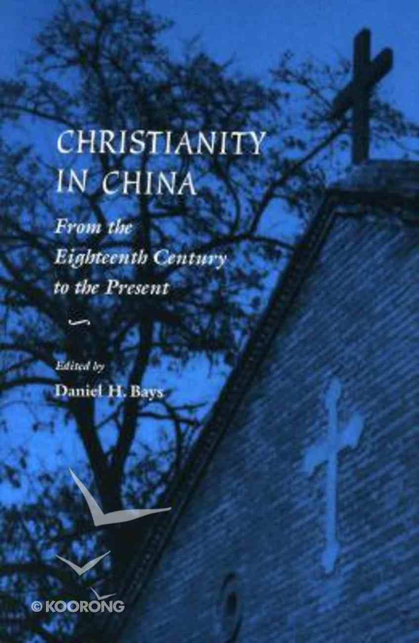 Christianity in China Hardback