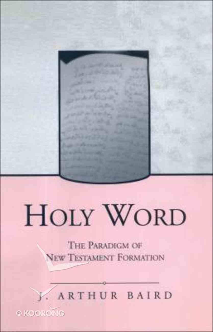Holy Word Hardback