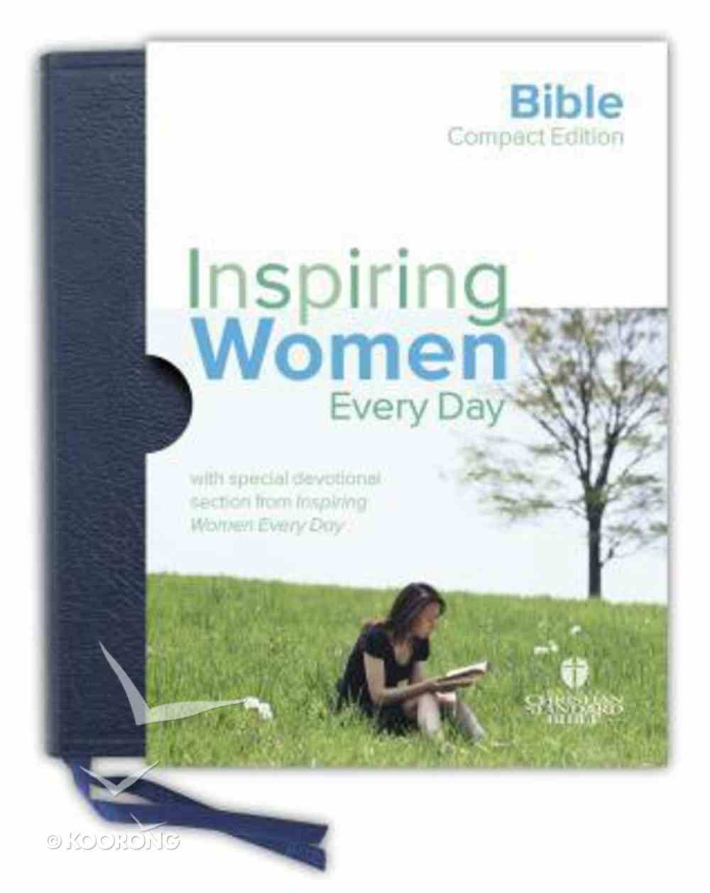 HCSB Inspiring Women Every Day Compact Blue Bonded Leather