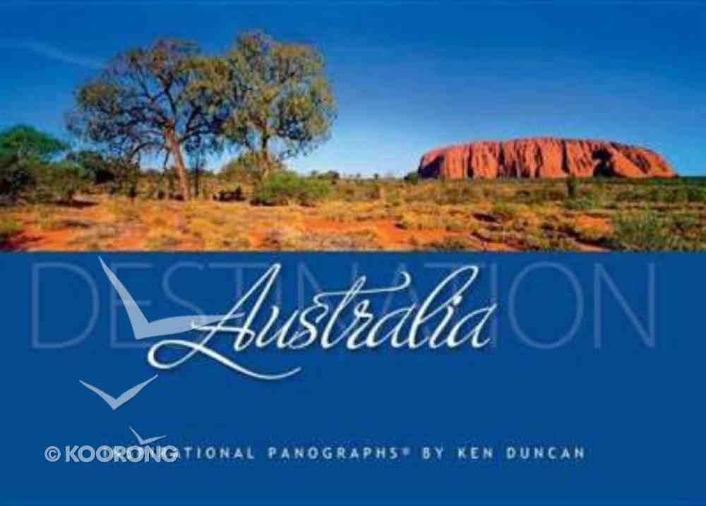 Destination Australia Hardback