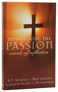 Product: Approaching The Passion Image