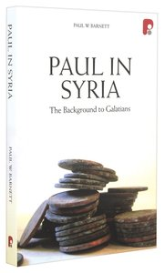 Product: Paul In Syria: The Background To Galatians Image