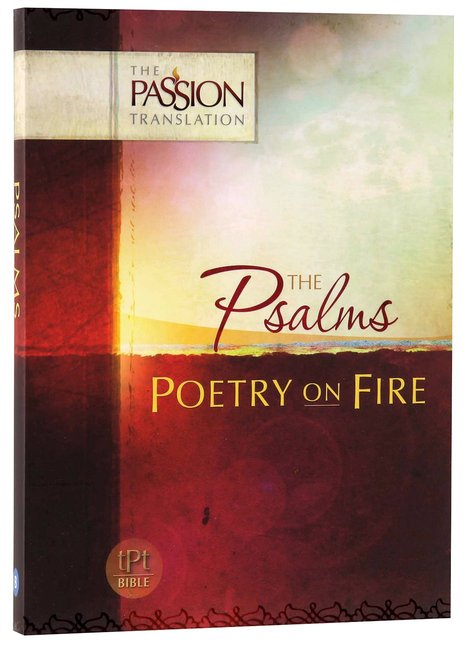 Product: Tpt Passion Translation - The Psalms: Poetry On Fire Image
