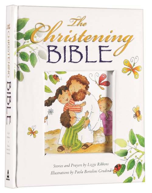 Product: Christening Bible, The (White) Image