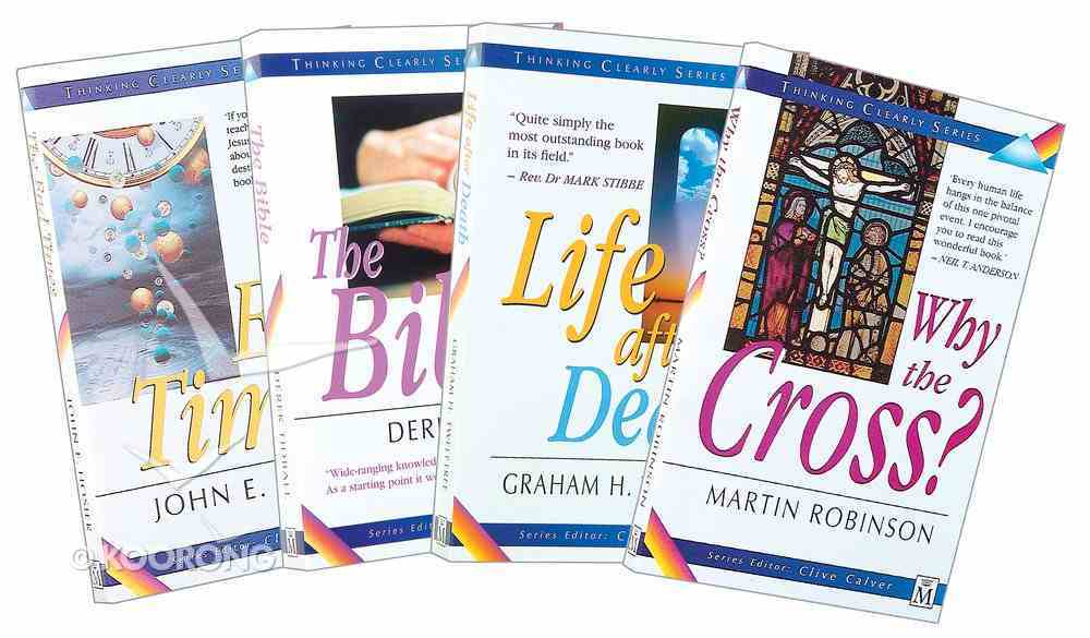 Thinking Clearly Bestsellers 4-Pack (4 Vols) Pack