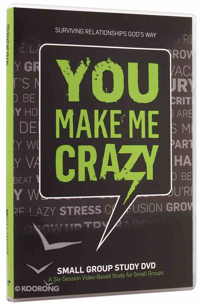 You Make Me Crazy: Small Group DVD DVD