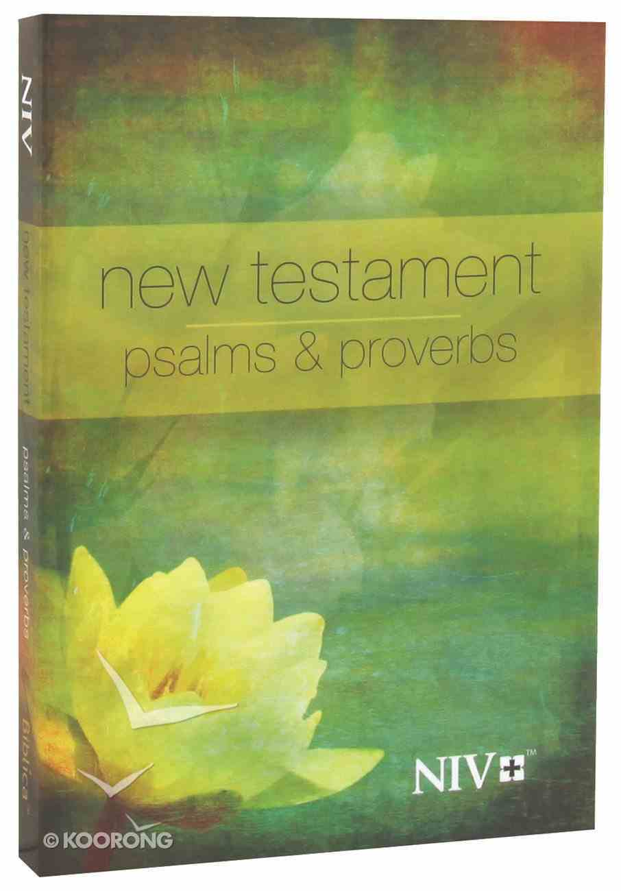 NIV Pocket New Testament With Psalms & Proverbs: Yellow Flower Paperback