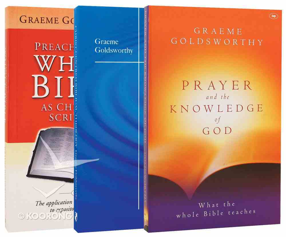 Graeme Goldsworthy Bestsellers Collection 3-Pack (3 Vols) Pack