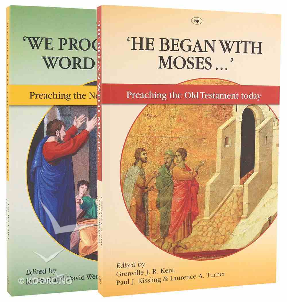 Proclaiming the Bible Today 2-Pack (2 Vols) Pack
