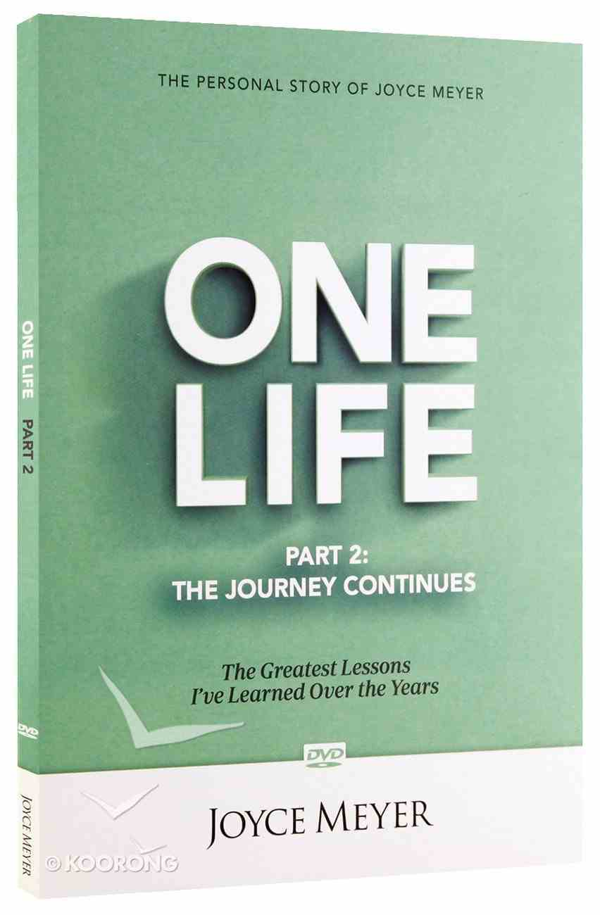 One Life: The Journey Continues DVD