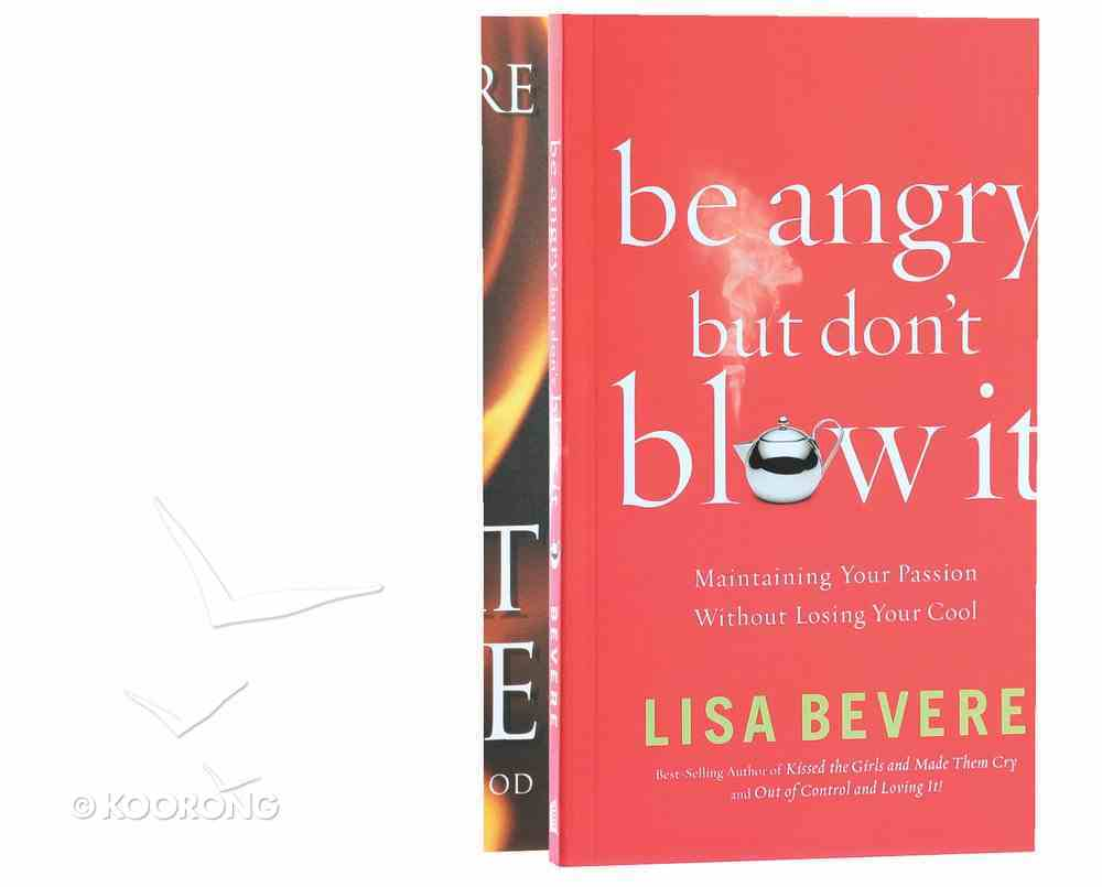 Heart Ablaze Plus Be Angry But Don't Blow It (2 Book Pack) Pack