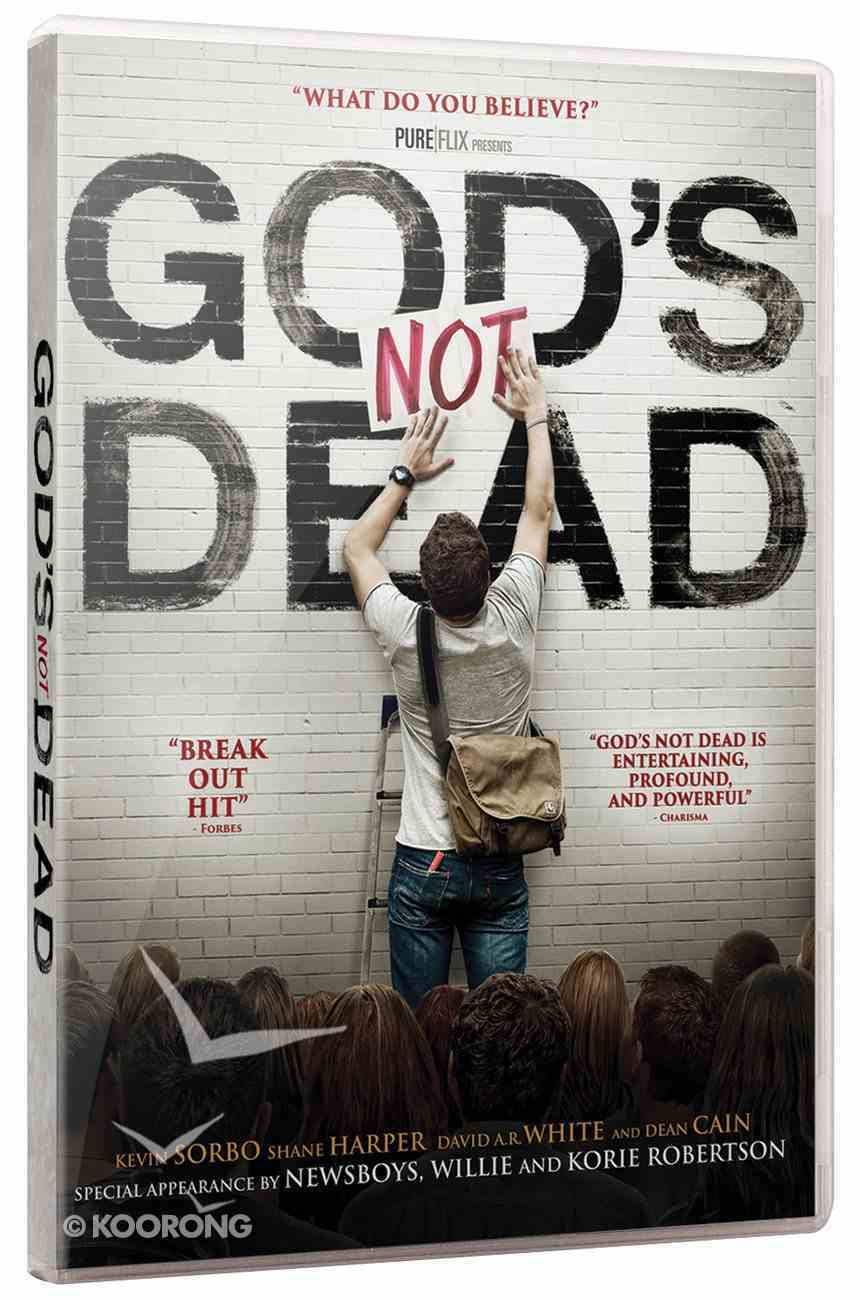 Scr DVD God's Not Dead Screening Licence Large (500+ People) Digital Licence