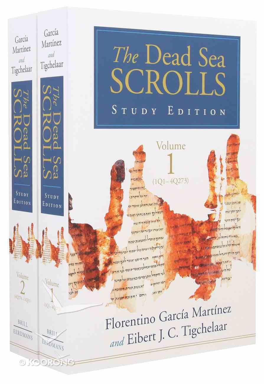 Dead Sea Scrolls (2 Volume Set) (Study Edition) Paperback