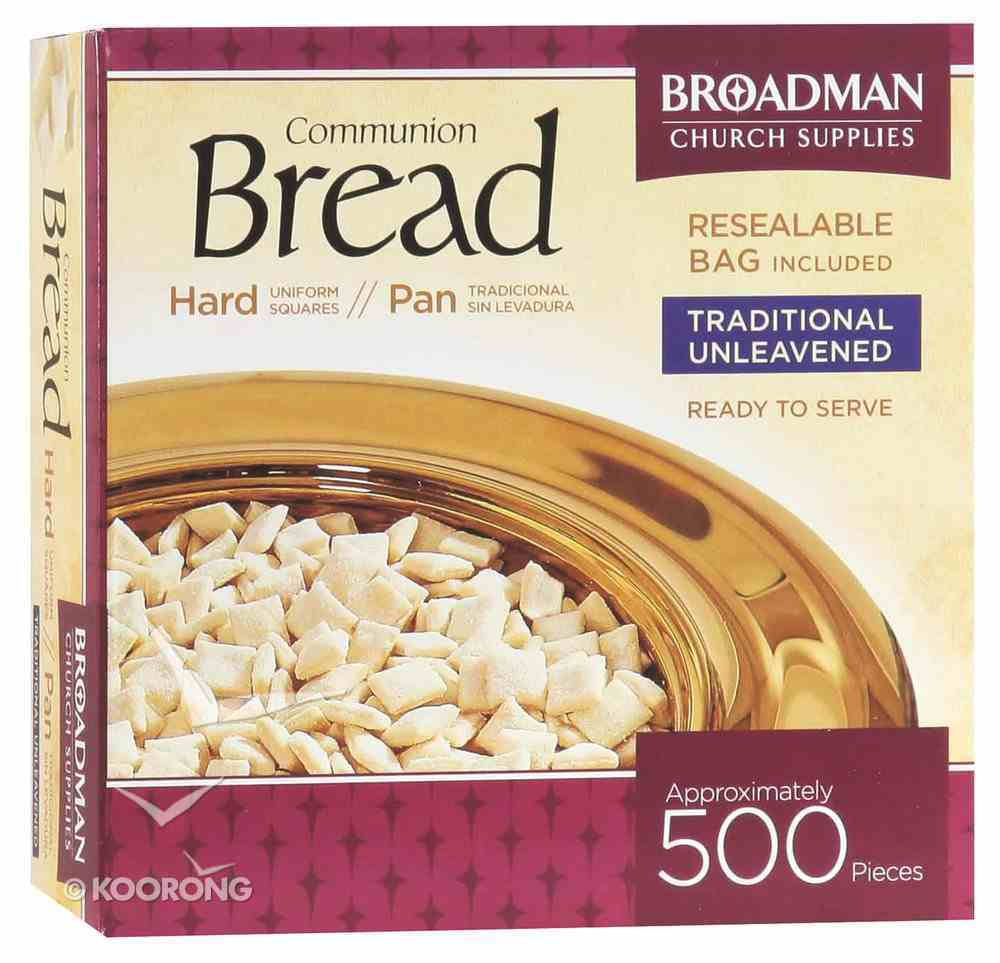 Communion Bread Unleavened 500 Pieces Box