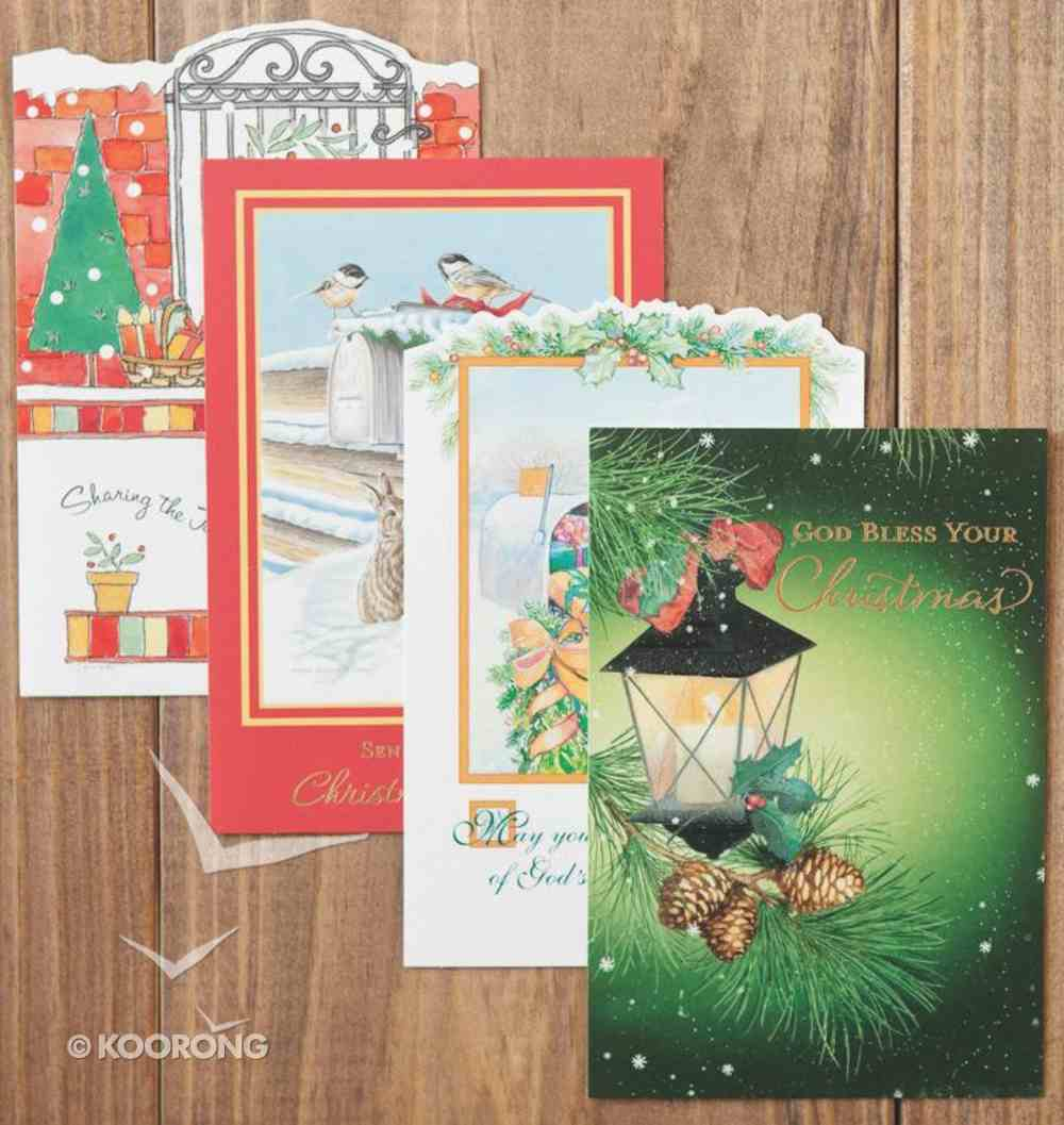 Christmas Value Boxed Cards D: Traditional Scenes With Scripture Box