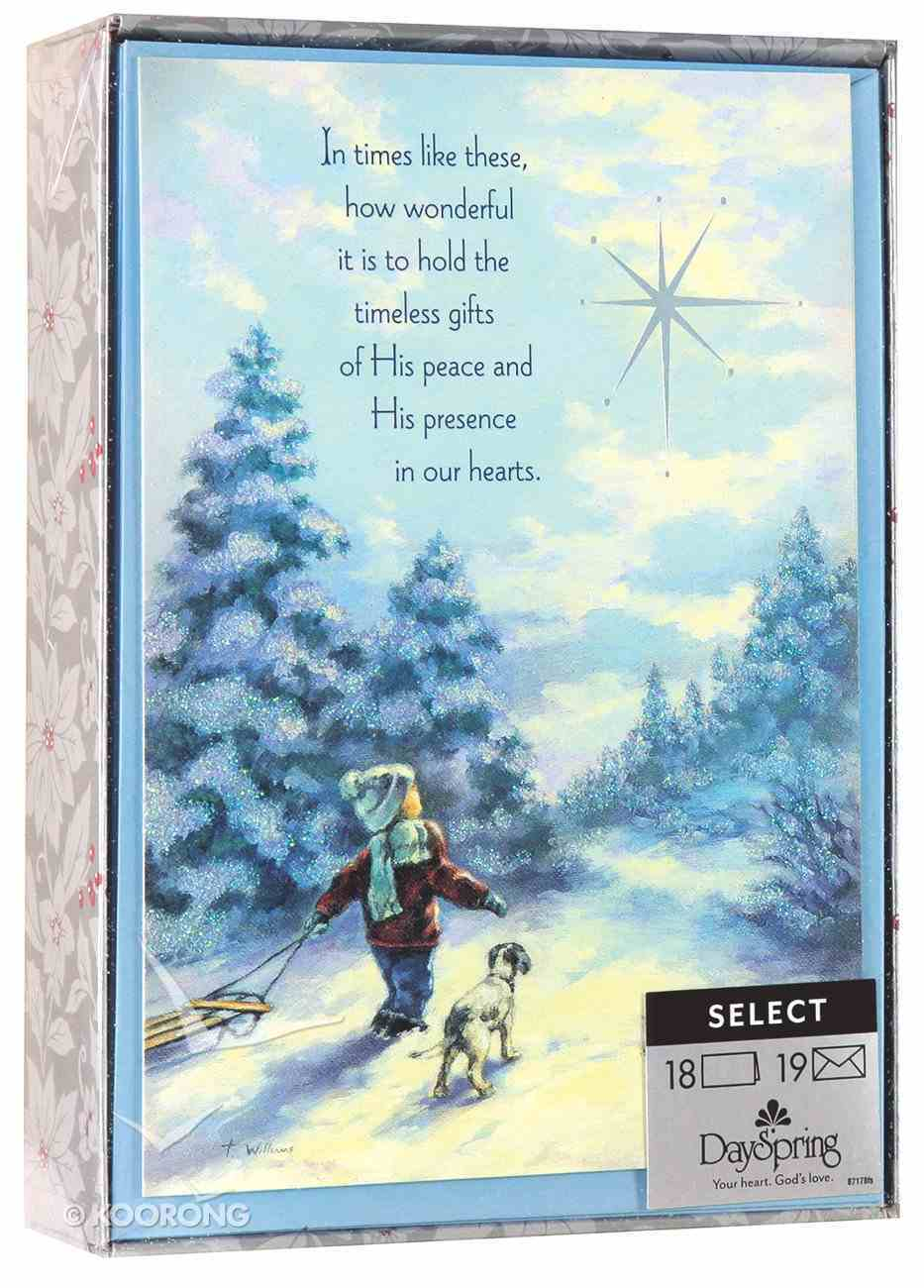 Christmas Boxed Cards: In Times Like These (John 14:27 Kjv) Box
