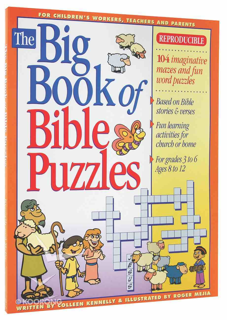 The Big Book of Bible Puzzles Paperback