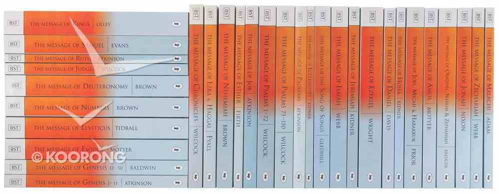 Old Testament Commentary Set (Complete 33 Volumes) (Bible Speaks Today Series) Paperback