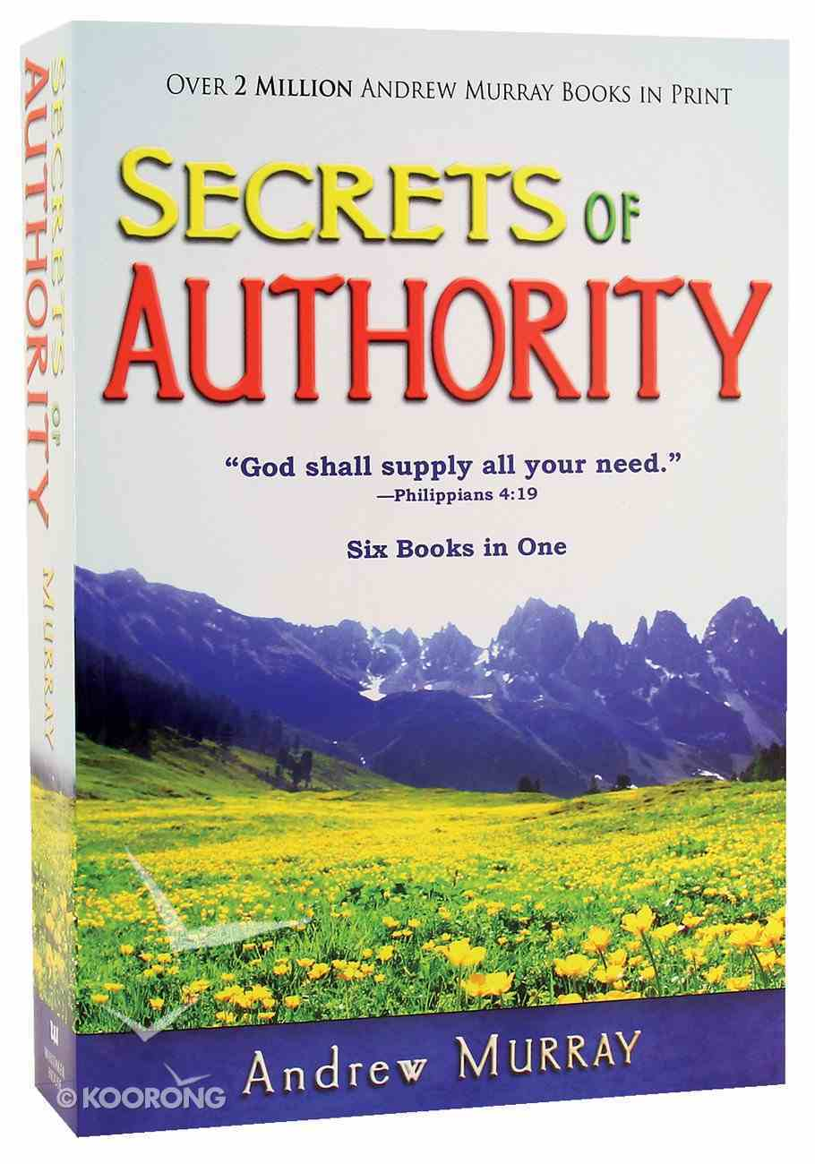 Secrets of Authority (6 Books In 1 Anthology) Paperback