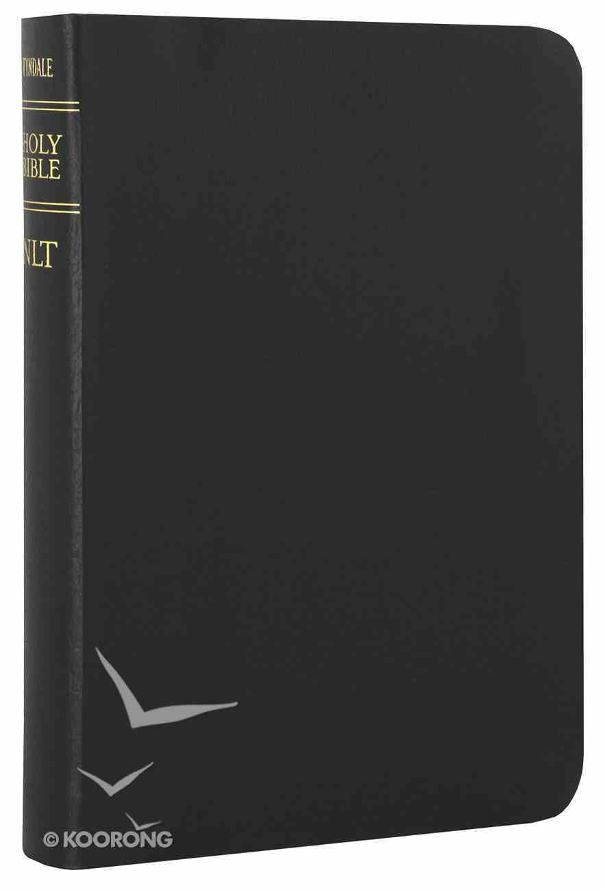 NLT Compact Gift Bible Black (Black Letter Edition) Bonded Leather