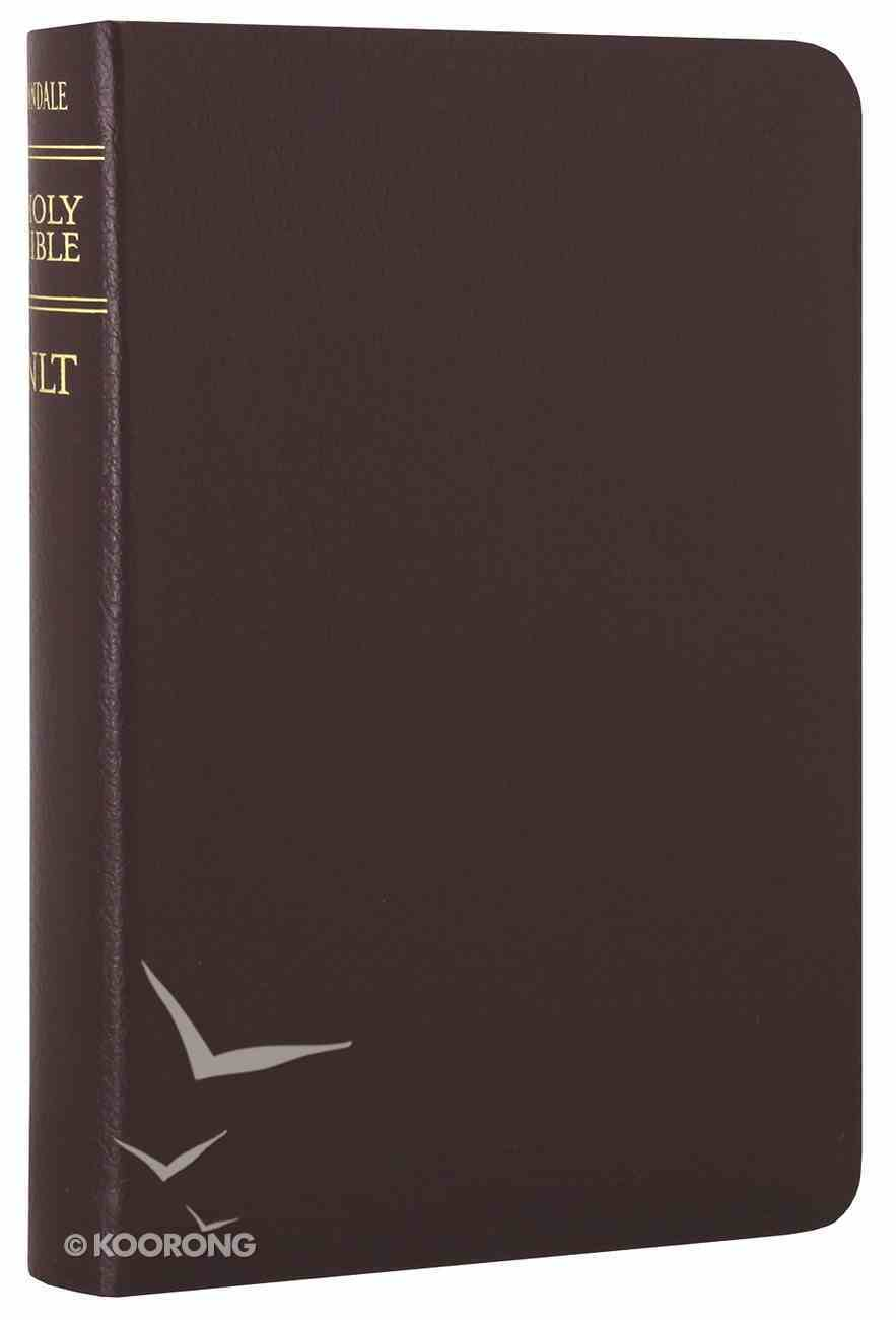 NLT Compact Gift Bible Burgundy (Black Letter Edition) Bonded Leather