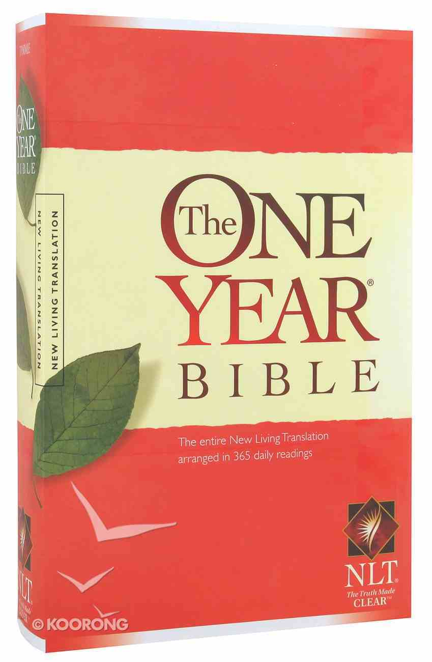 NLT One Year Bible (Black Letter Edition) Paperback