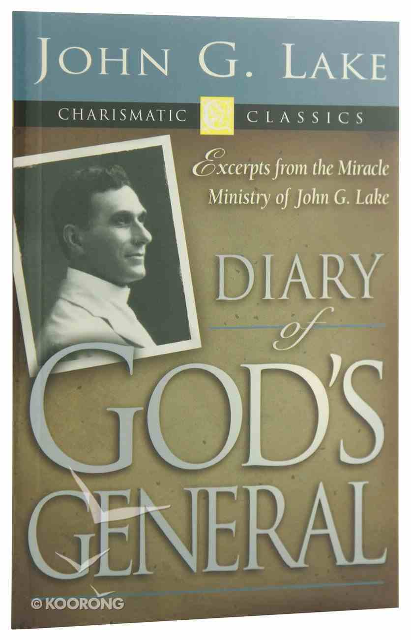 Diary of God's General Paperback